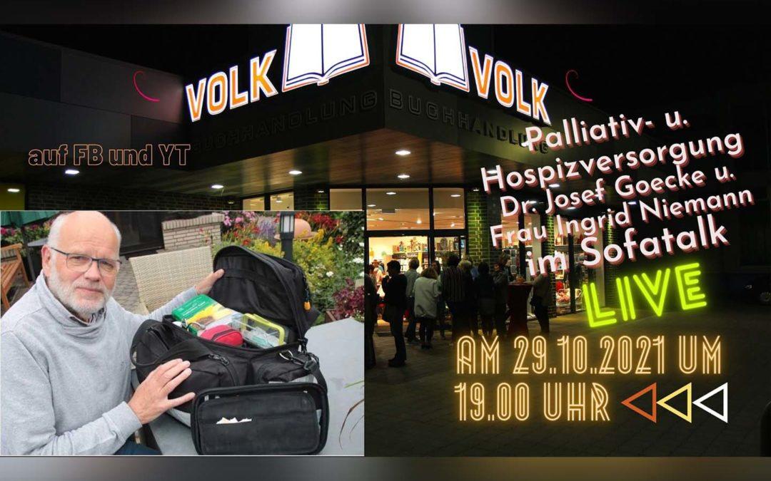 Sofatalk live auf FB und YT